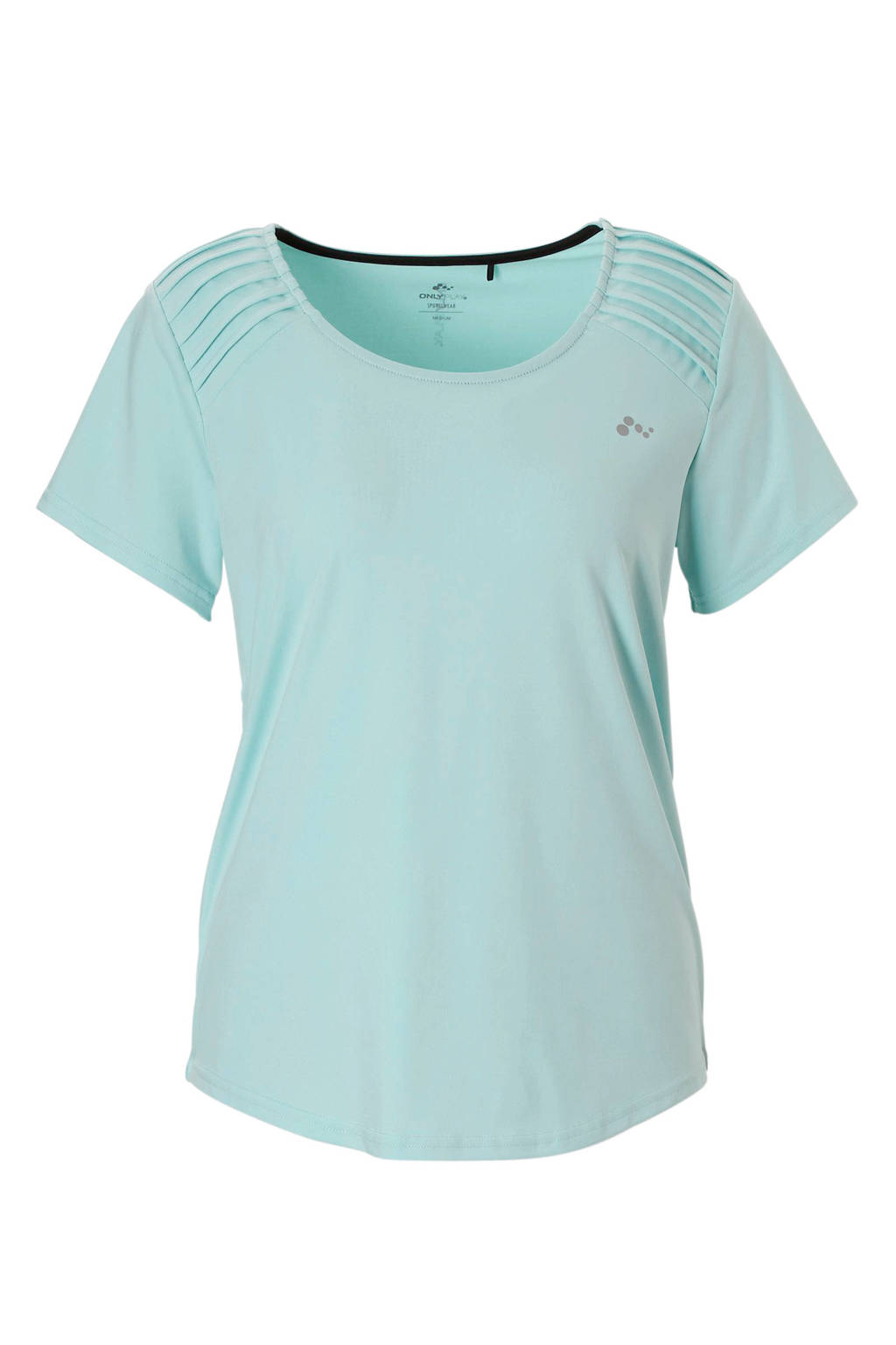 Only Play sport T-shirt lichtblauw, Lichtblauw