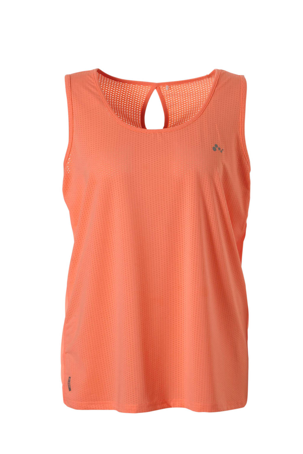 Only Play Curvy sporttop oranje, Neon oranje