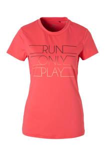 Only Play sport T-shirt roze (dames)