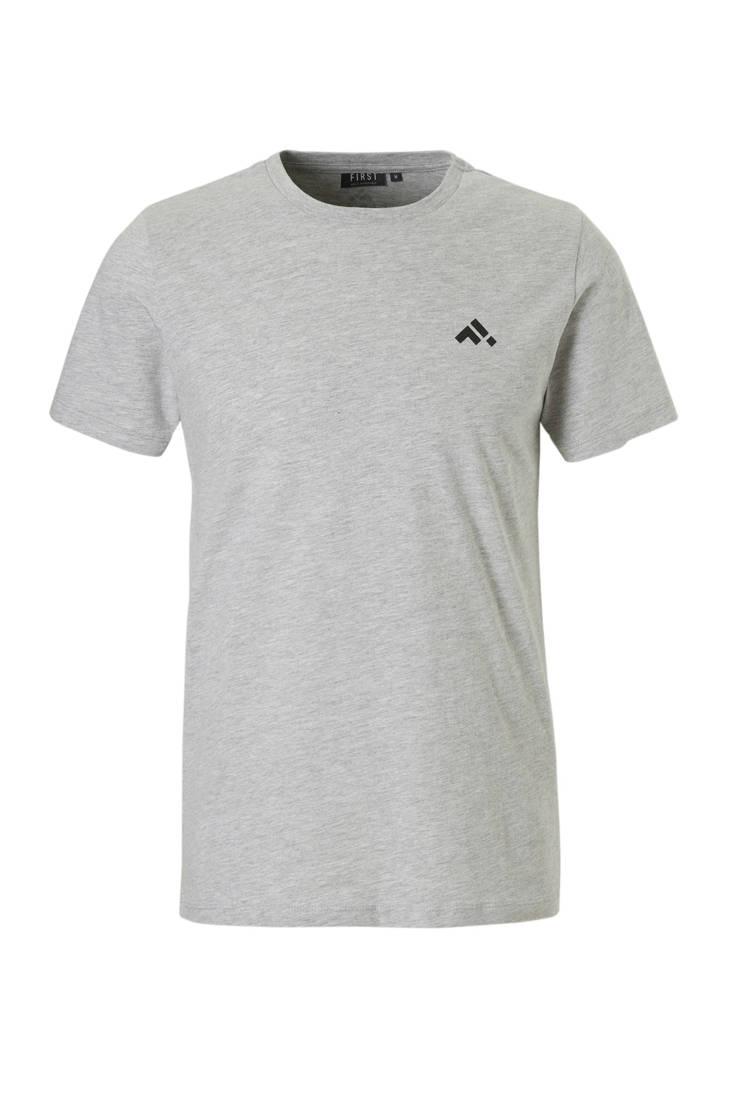 grijs First sport T shirt First sport grijs First First T shirt grijs sport T sport shirt qBBZ0P