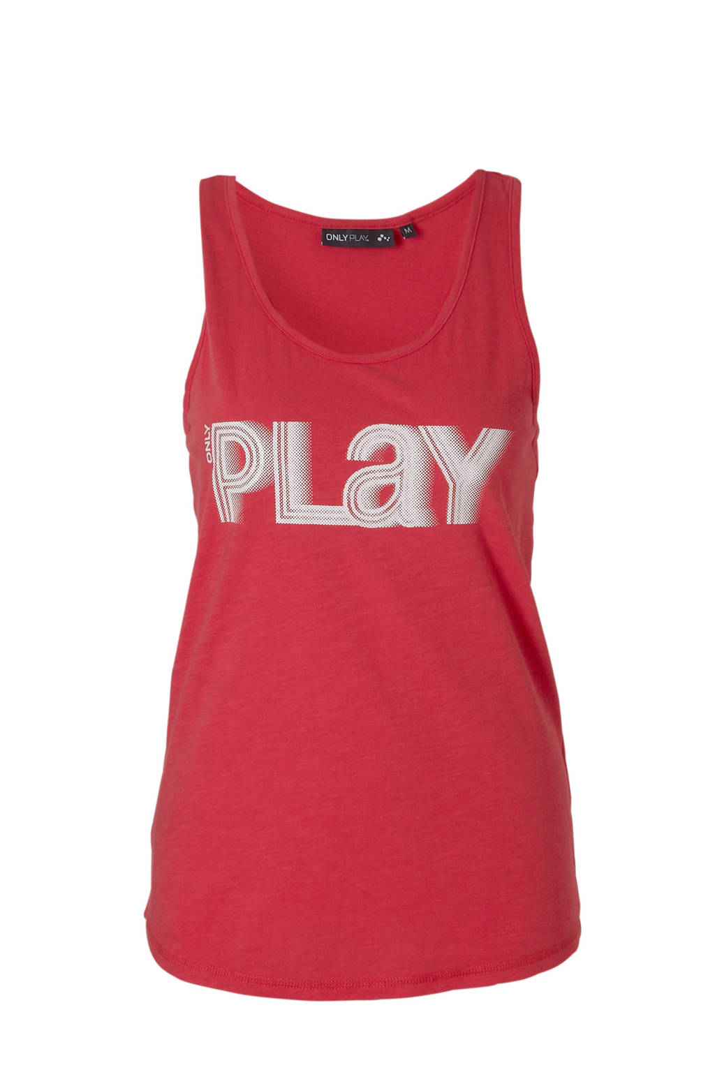 Only Play sporttop roze, Roze/wit