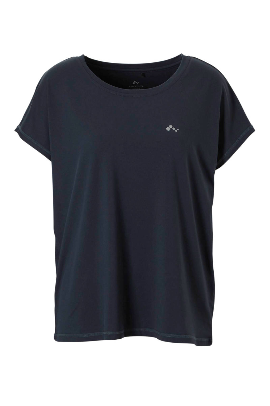 Only Play sport T-shirt  donkerblauw, Donkerblauw