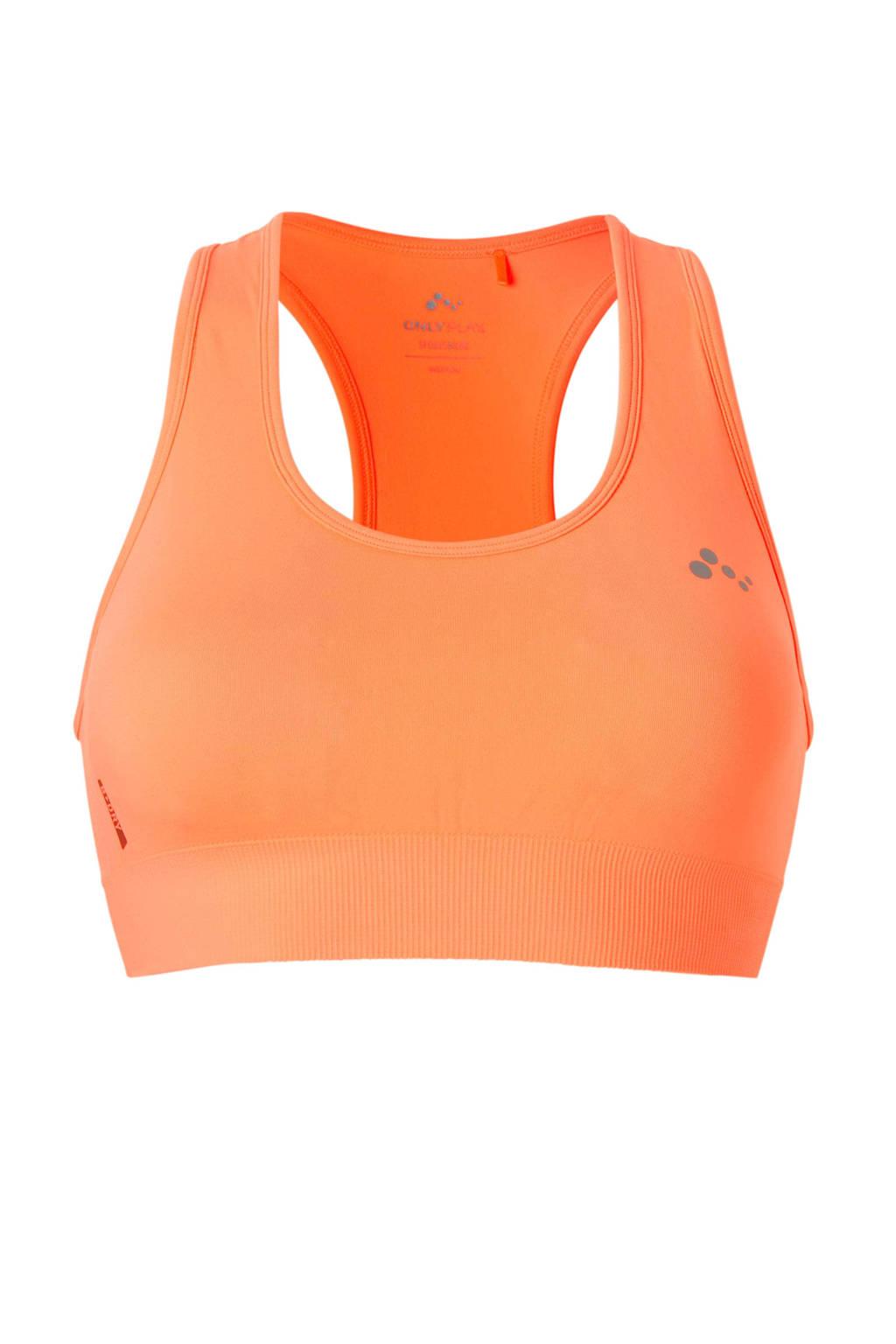 ONLY PLAY level 1 sportbh ONPDAISY neon oranje, Neon oranje