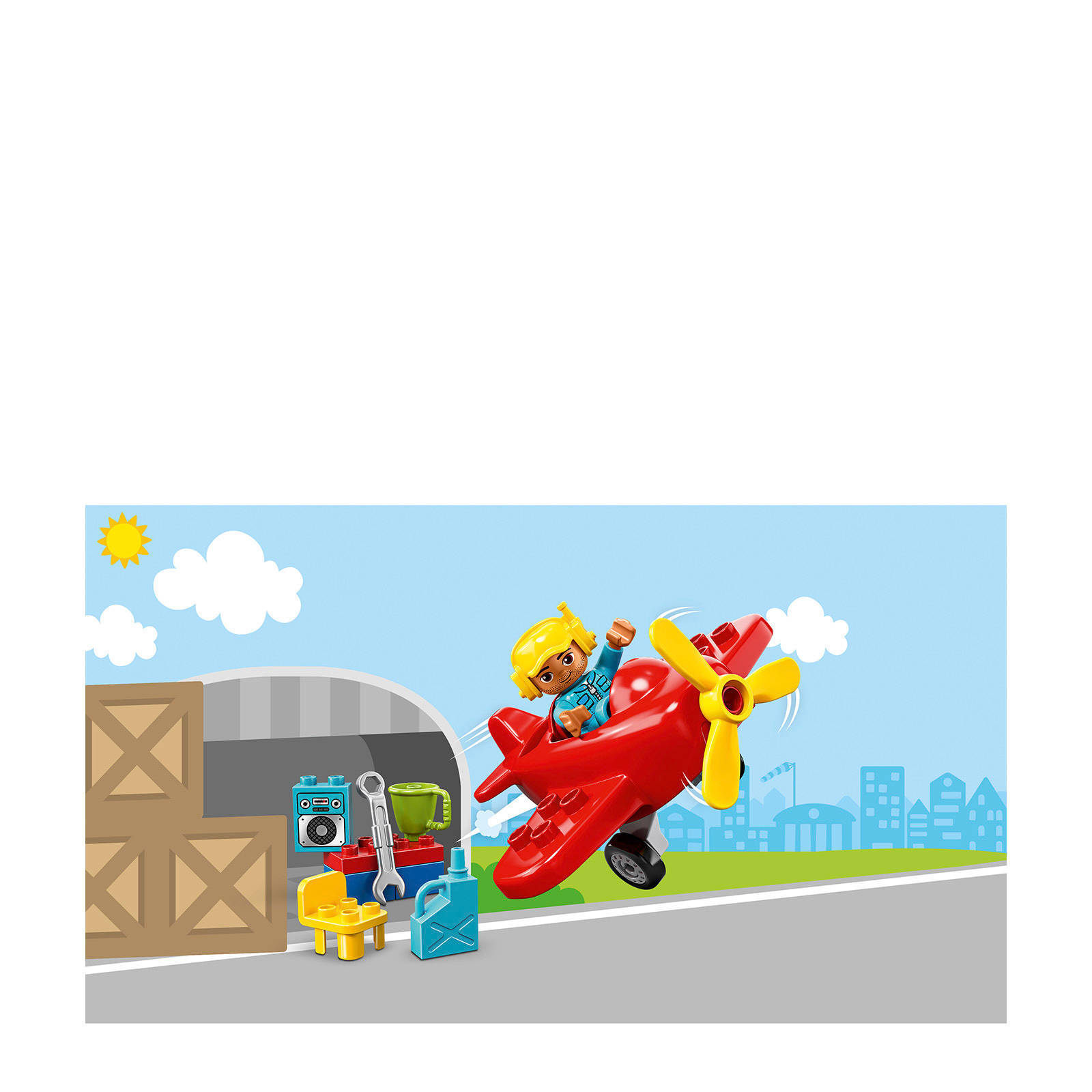 Lego Duplo Vliegtuig 10908 Wehkamp