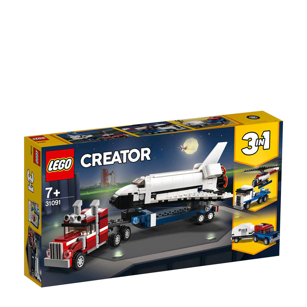 Lego Creator Spaceshuttle Transport 31091 Wehkamp