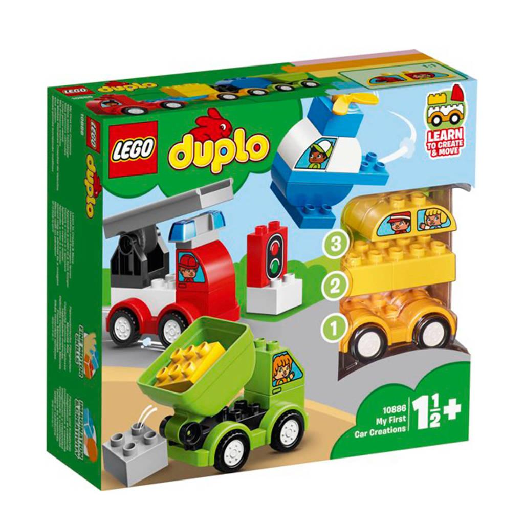 LEGO Duplo Mijn eerste auto creaties 10886