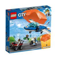 LEGO City Luchtpolitie parachute arrest 60208