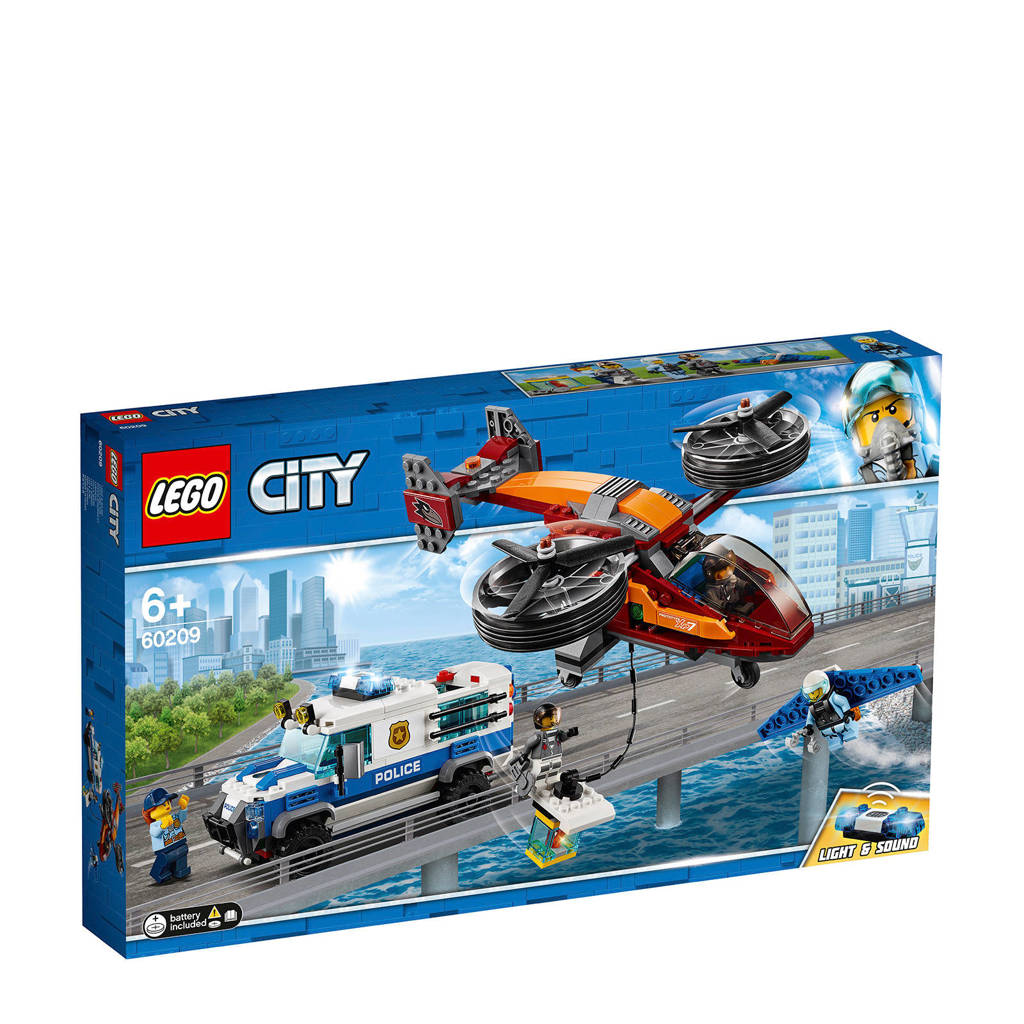 LEGO City Luchtpolitie diamantroof 60209
