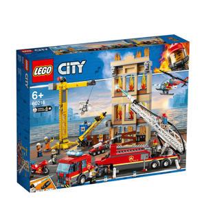 Brandweerkazerne in de stad 60216