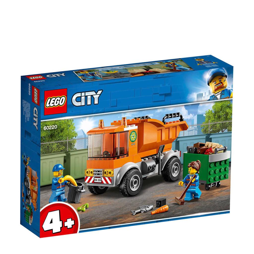 LEGO 4+ Vuilniswagen 60220