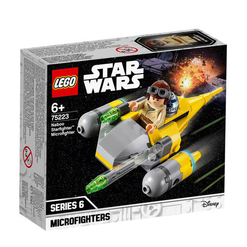 LEGO Star Wars Naboo Starfighter Microfighter 75223