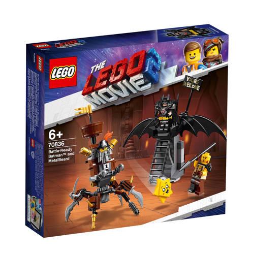 Gevechtsklare Batman En Metaalbaard Lego 70836