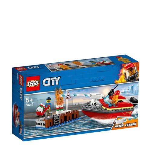 LEGO City Brand aan de kade 60213 kopen