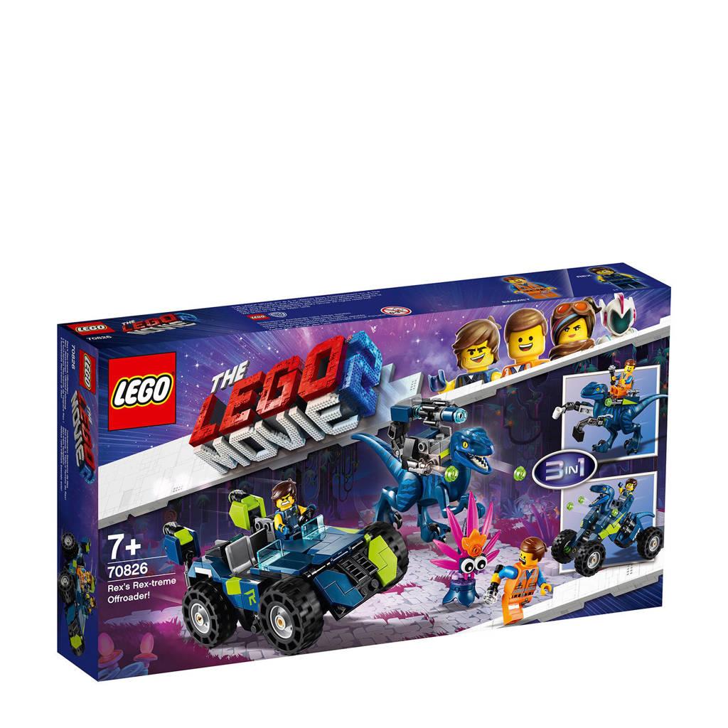 LEGO Movie Rex's Rex-treme Offroader 70826