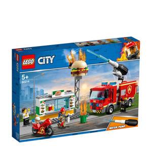 Brand bij het hamburgerrestaurant 60214