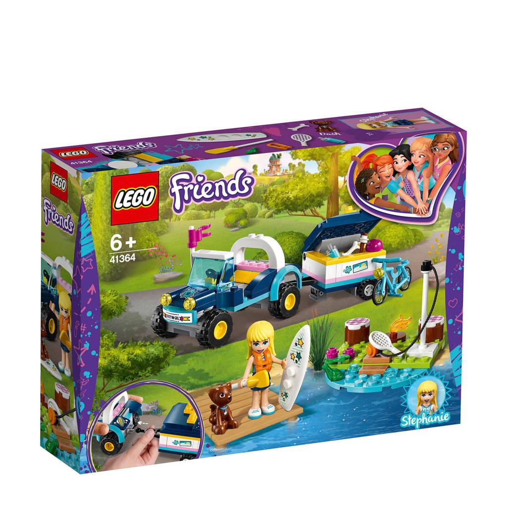 LEGO Friends Stephanie's buggy en aanhanger 41364