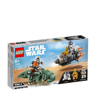 Star Wars Escape Pod vs. Dewback Microfighters 75228