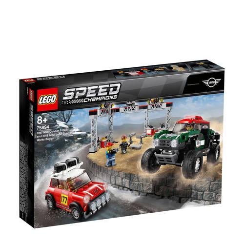 Lego 75894 Champions Mini Cooper