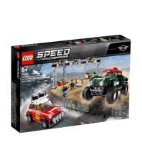 LEGO Speed Champions 1967 Mini Cooper S Rally en 2018 MINI John Cooper Works Buggy 75894
