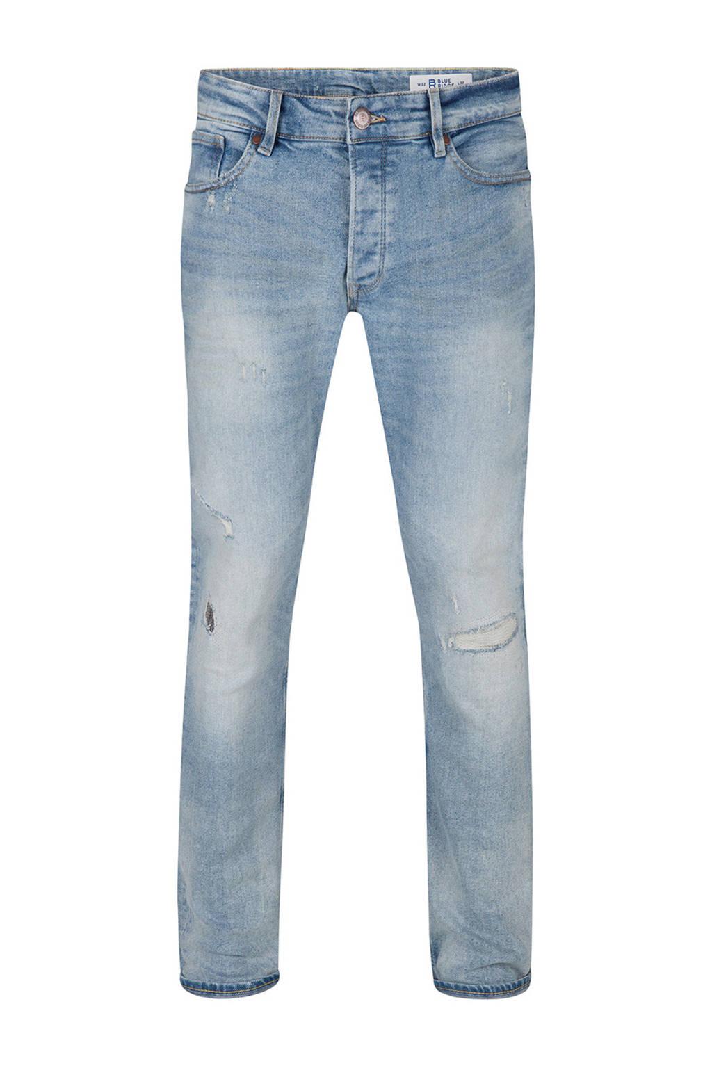 WE Fashion Blue Ridge tapered fit jeans, Light denim