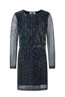 WE Fashion glitter jurk blauw