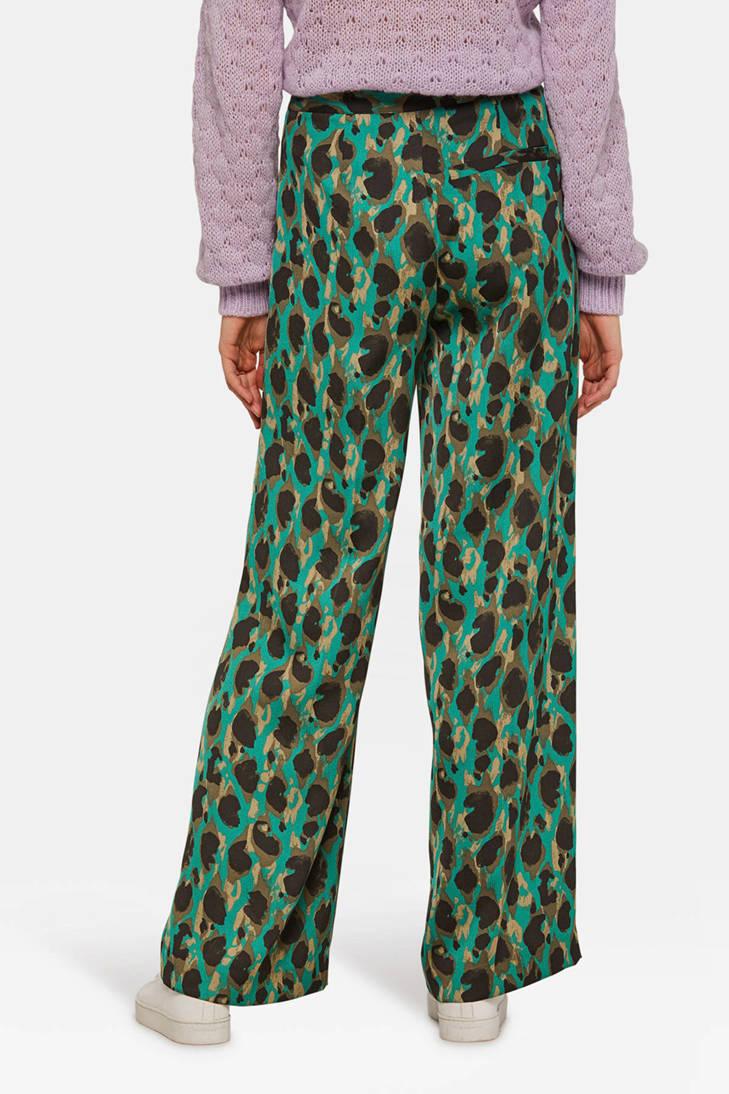 broek over WE Fashion print all met palazzo pwa4f