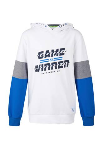 hoodie met tekst wit