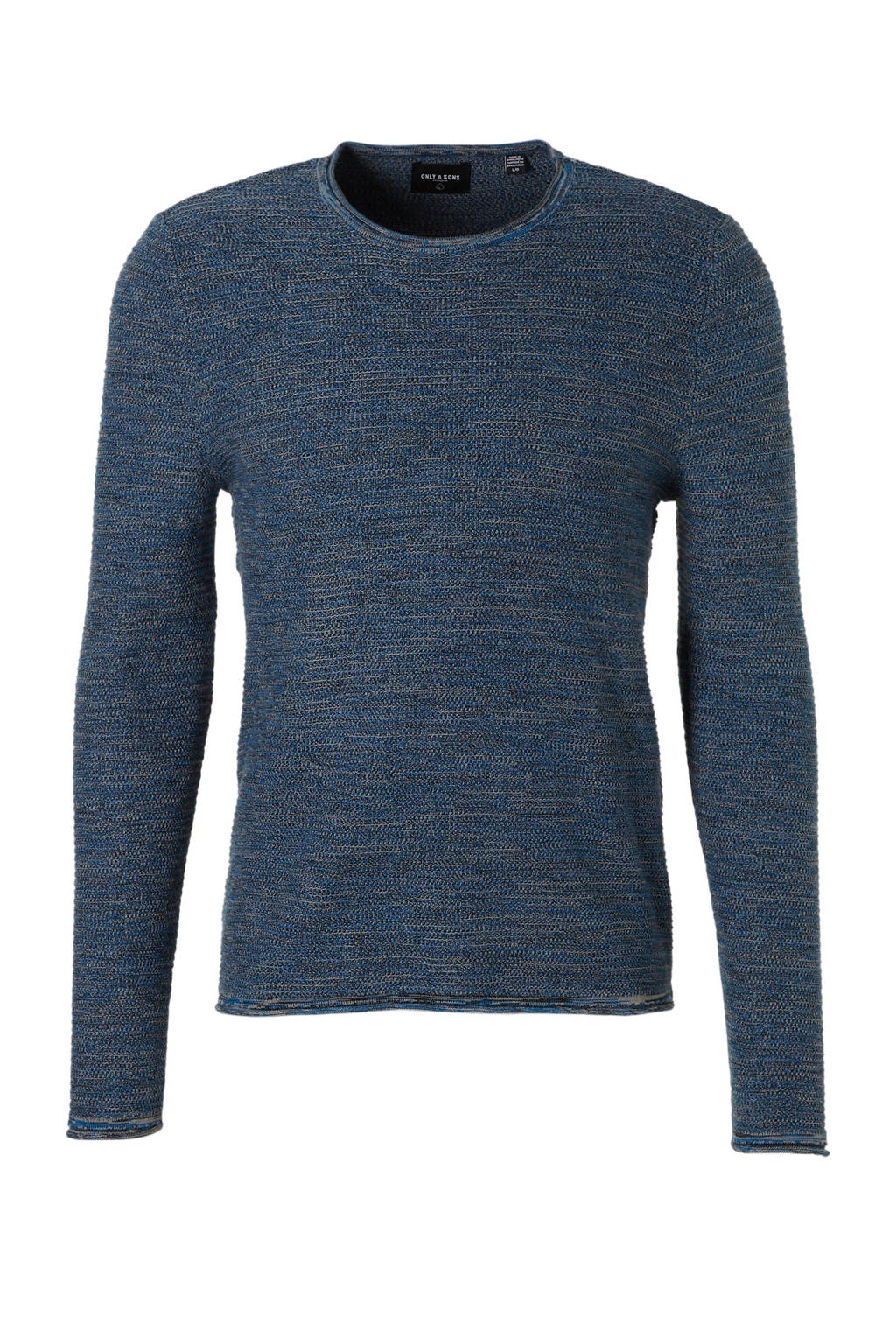 Only & Sons trui, Blauw/wit