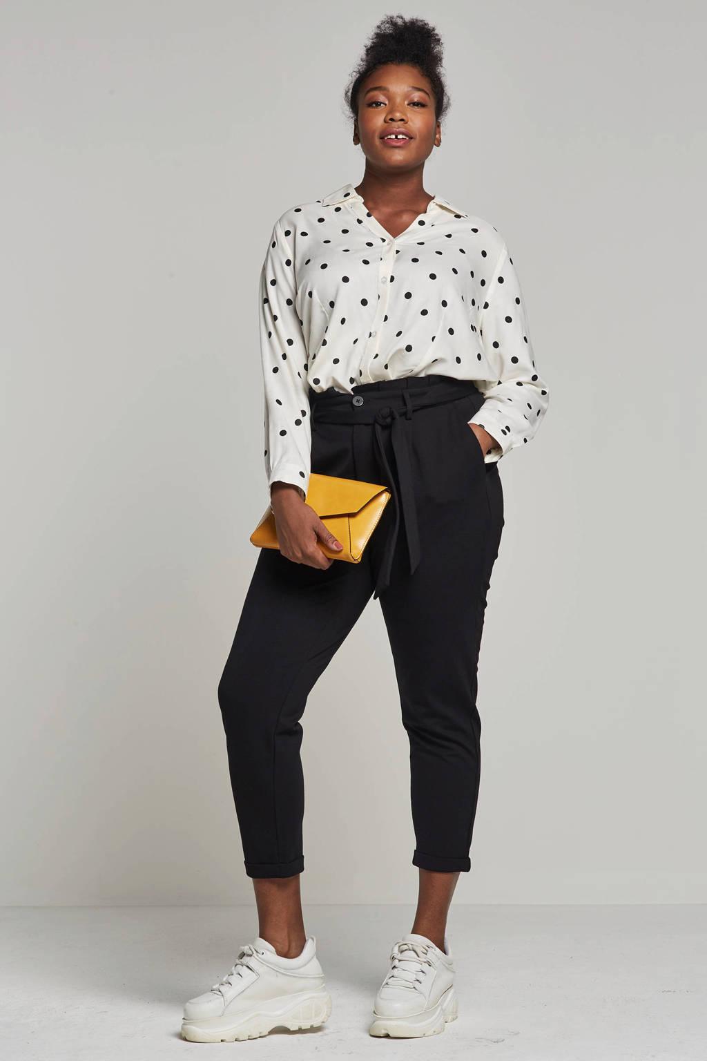 ONLY carmakoma pantalon zwart, Zwart