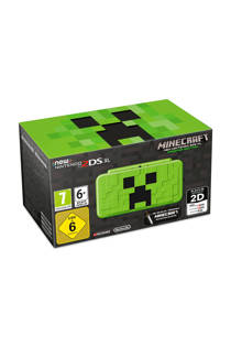 Nintendo 2DS  XL met Creeper-design