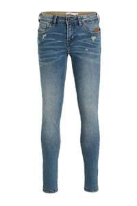 NAME IT regular fit jeans NKMROSS met slijtage blue denim, Blue denim