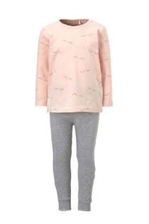 name it MINI pyjama met oogjes roze (meisjes)