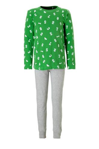 pyjama met cijfers