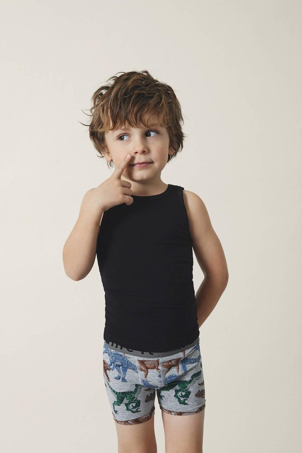NAME IT MINI hemd - set van 2 zwart, Zwart