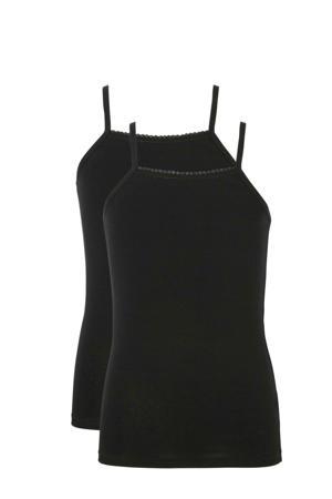 hemd - set van 2 zwart