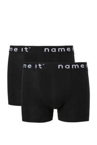 NAME IT   boxershort - set van 2 zwart, Zwart