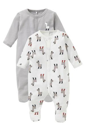 newborn baby pyjama - set van 2