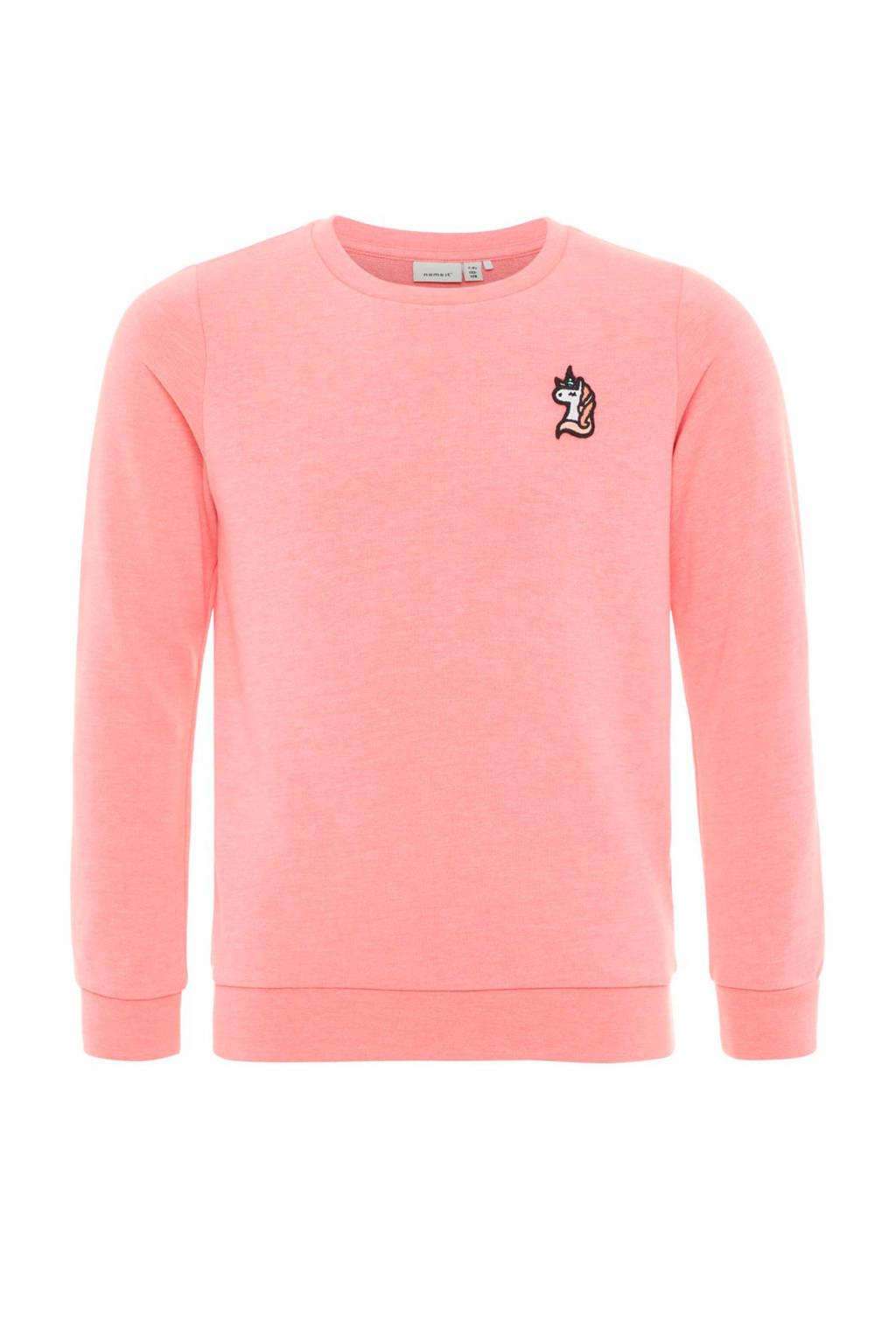 name it sweater Berbel roze, Roze