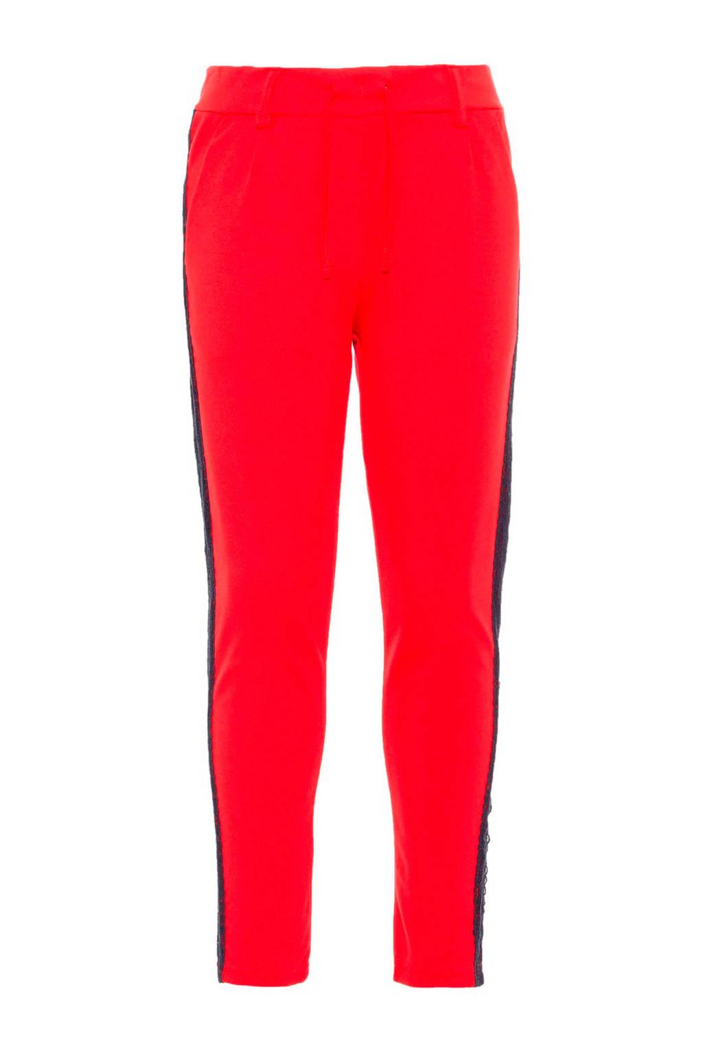 name it 7/8 broek Bianna Ida rood, Rood