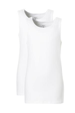 hemd - set van 2  wit