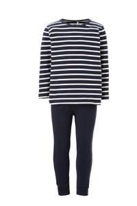 NAME IT MINI   pyjama met strepen, Donkerblauw/ wit