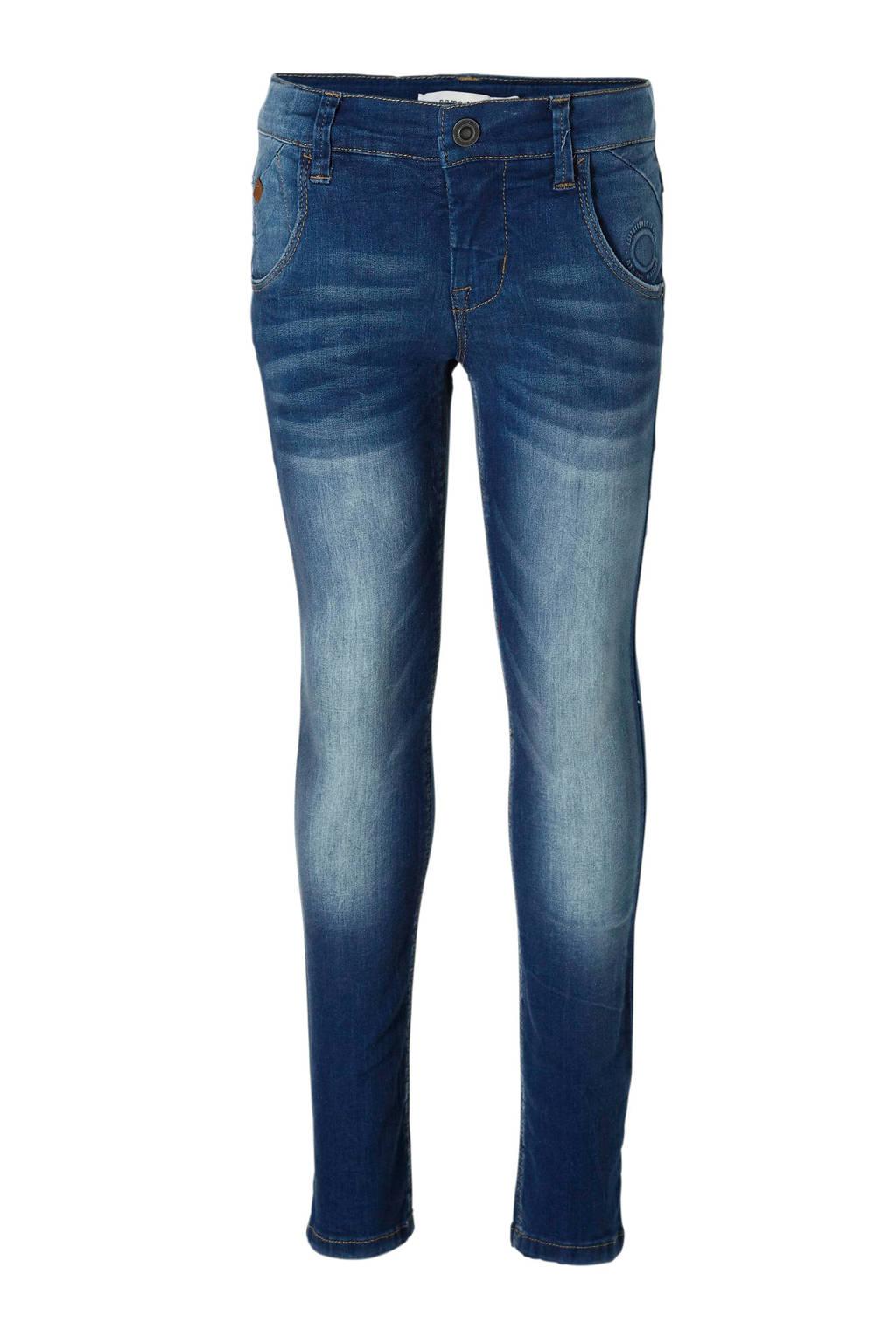 name it x- slim fit jeans Theo, Medium blue