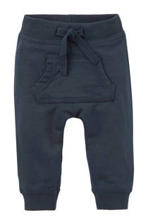name it BABY   newborn joggingbroek Teman blauw (jongens)
