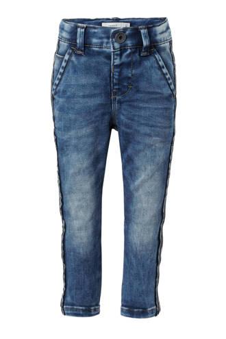 MINI slim fit jeans Silas met zijstreep