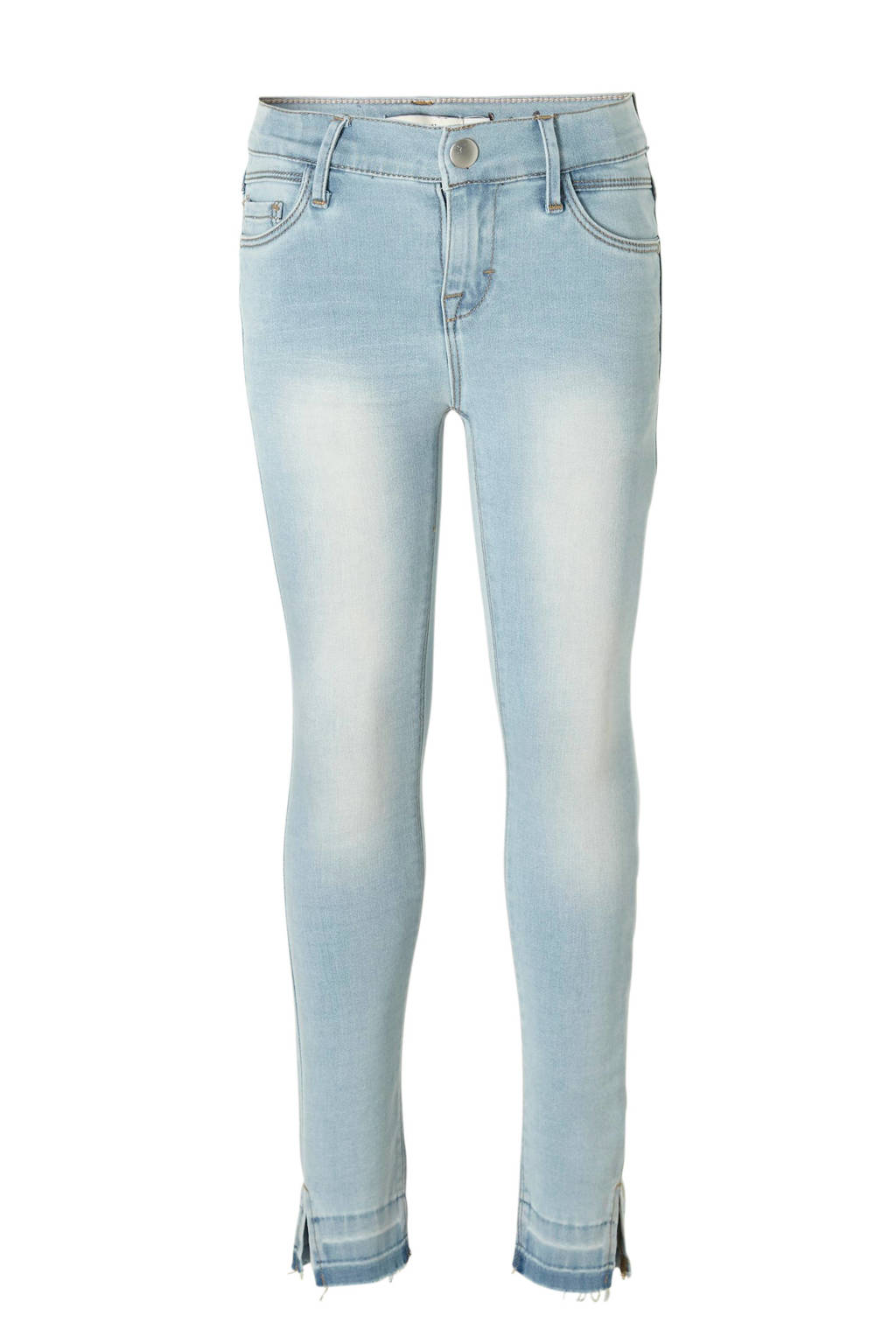 name it skinny fit 7/8 jeans Polly, Lichtblauw