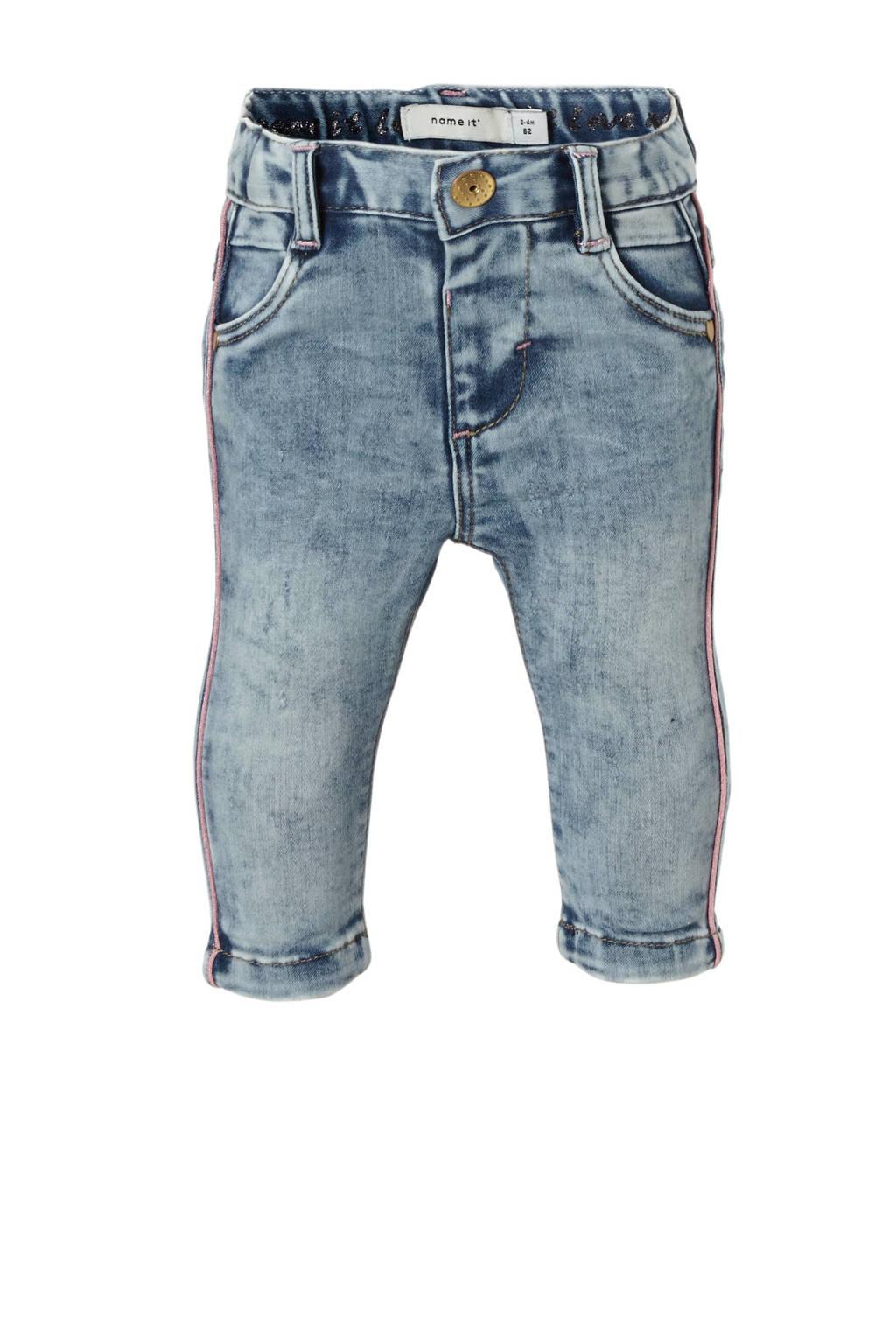 name it BABY baby slim fit jeans Salli, Light denim