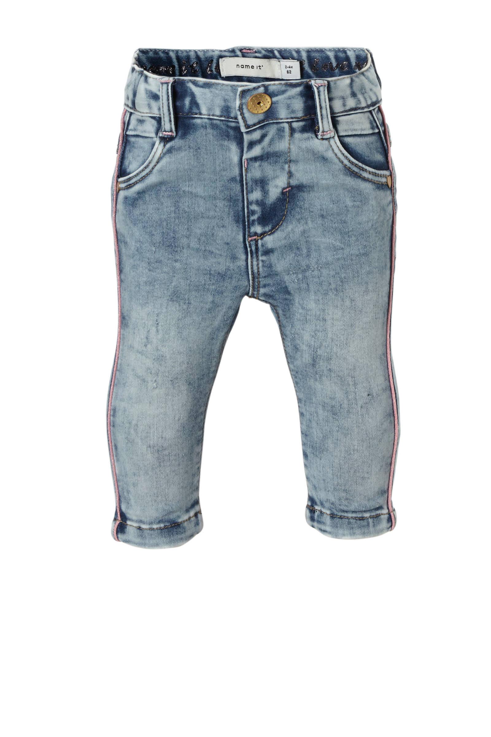 baby spijkerbroek maat 50