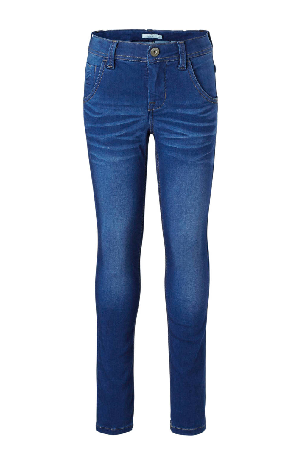 name it x-slim fit jeans Theo, Dark denim