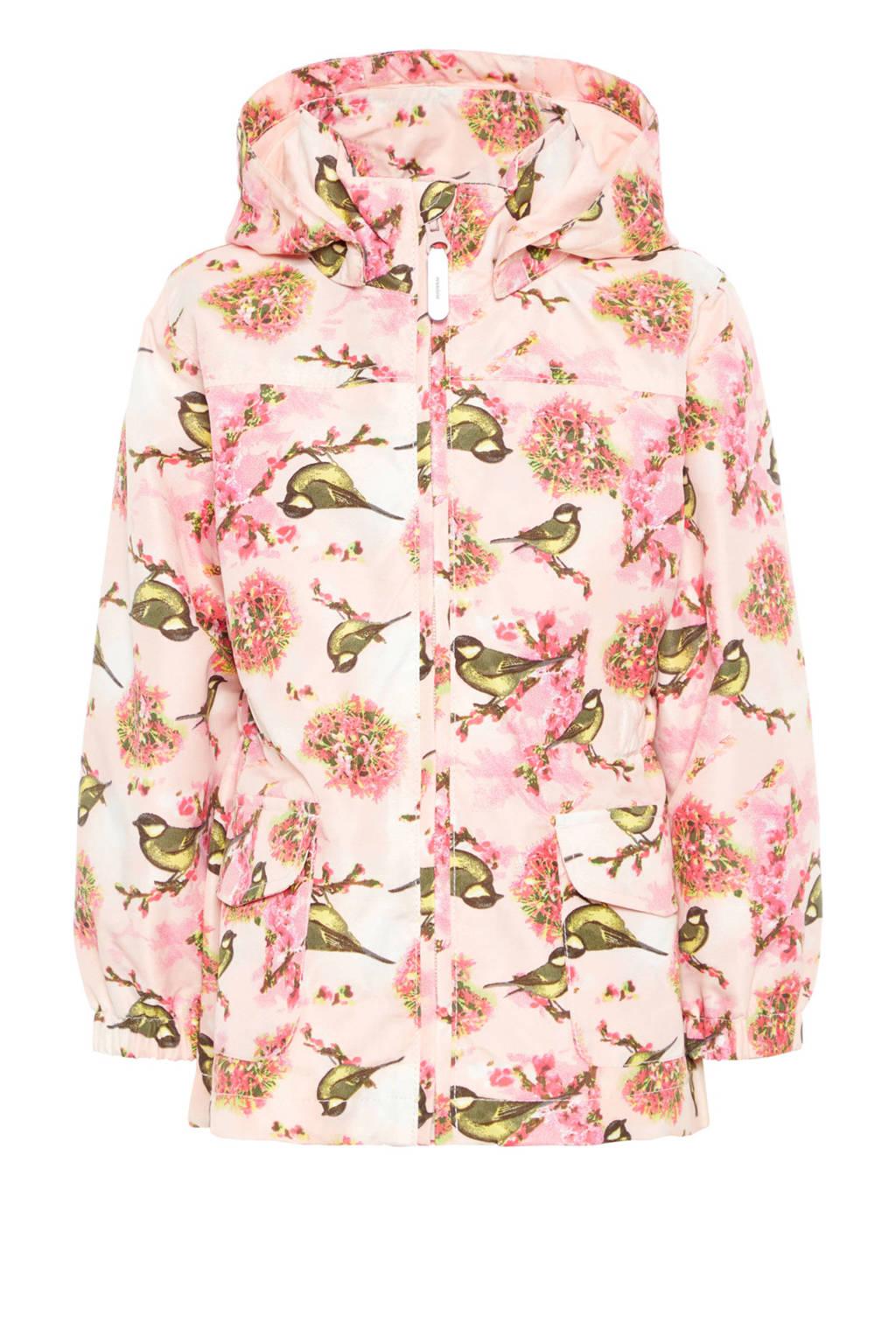 name it MINI zomerjas Mello met vogels roze, Lichtroze