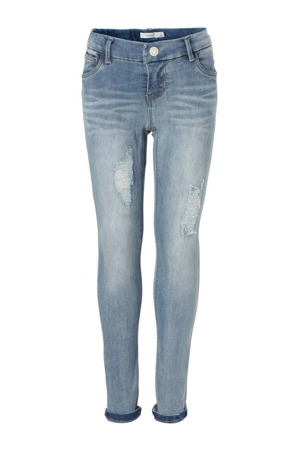 name it skinny jeans Polly, Light denim